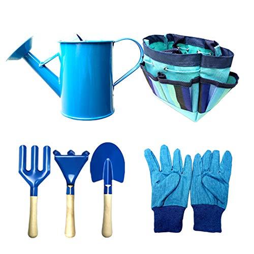 Festnight Juego de bolsas de tela para niños Bolsas de herramientas de jardinería para niños Kit de herramientas de interacción seguro entre padres e hijos