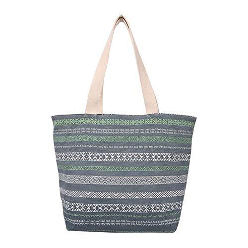 Bolsa de lona de algodón, bolsa de compras reutilizable, bolsa de lona plegable, bolso de regalo ecológico para mujeres, niños, niñas