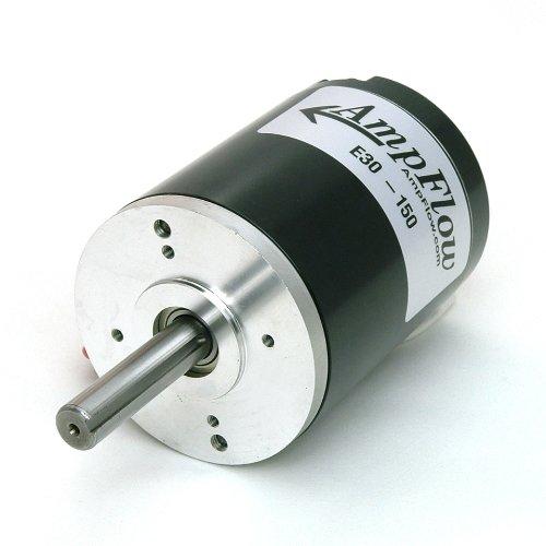 AmpFlow E30-150 Brushed Electric Motor, 12V, 24V or 36 VDC, 5600 RPM