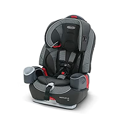 GRACO Nautilus 65 LX 3-in-1 Harness Booster Car Seat, Conley by Graco Baby