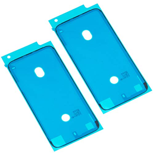 Ewparts 2 Piezas LCD Display Frame Impermeable Etiqueta Adhesiva de Cinta para iPhone 7 (Negro)