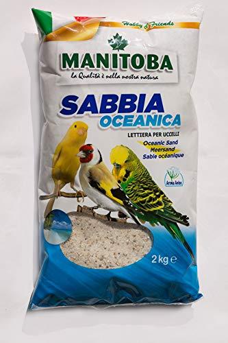 Manitoba Arena Oceánica de 2 kg para pájaros
