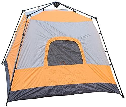JSL Stabiles Campingzelt für 5–8 Personen, vier Ecken, quadratisch, automatisches Pop-Up-Zelt, Rucksackreisen, ultraleicht, wasserdicht, für Wandern, Camping, Reisen, Sonnenschutz