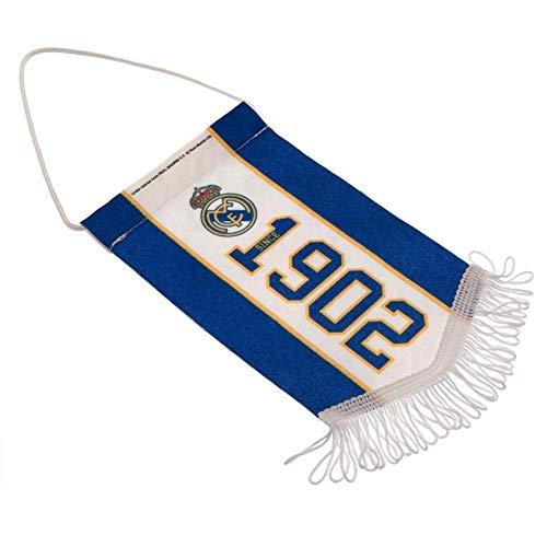 Real Madrid CF Gründungsjahr Mini Wimpel (Einheitsgröße) (Blau/Weiß)