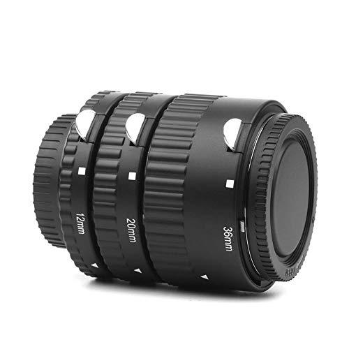 Wingeri Kamera-Objektivdeckel Fotoverlängerungsrohre Elektronischer Bajonett-Vollkupfer-Step-up-Adapter for Kamera und Objektiv Praktisch
