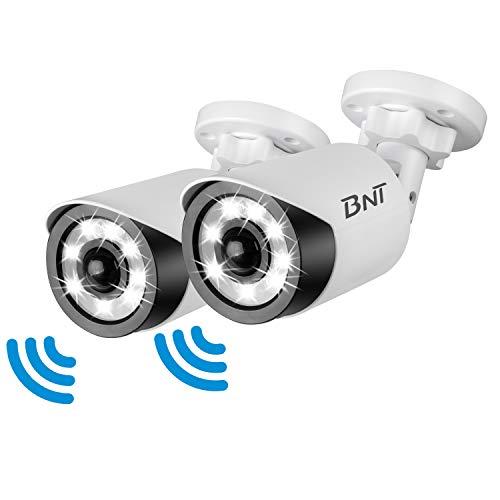 センサーライト 屋外 ledライト 人感センサー 防犯カメラ型 LED投光器 ガーデンライト 省エネ 長寿命 IP66防水・防塵 PSE認証 (2個セット)