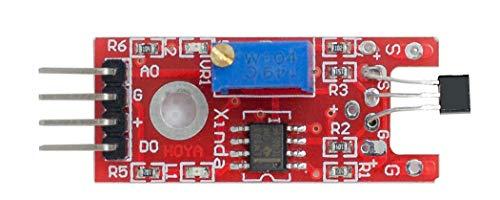 MissBirdler Hall Effekt Transistor Sensor LM393 für Arduino Raspberry Pi
