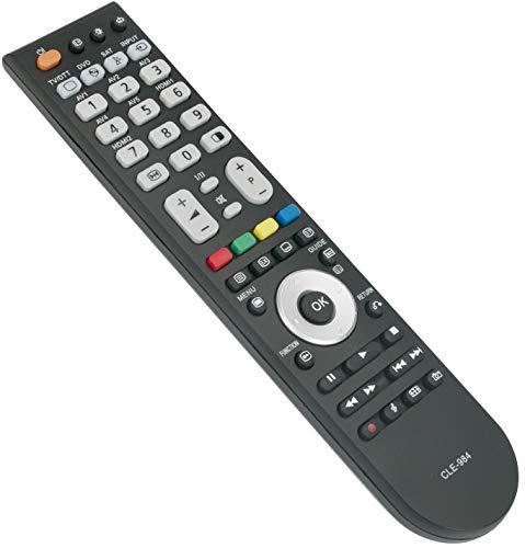 ALLIMITY CLE-984 CLE984 Afstandsbediening Vervangen voor Hitachi Plasma LCD TV L26A01A L26H01 L26H01E L37VR1U L42VP01S L42VP01U L47VP01E P42T01 P42T01E P42T01UA P42TP01E P42TP01EA P42TP01U P42TP01UA