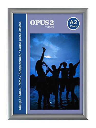 OPUS 2 355004 Klapprahmen A2, 25 mm Profil
