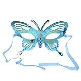 Sunhoyu Schmetterlings-Halloween-Gesichtsmaske, Glitter-Maskerade-Partei-Halloween-Kostüm Neu