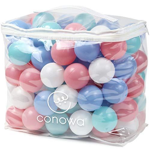 コノワ(conowa) カラーボール 100個 パステルカラー ボールプール