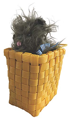 Rubies Wizard of Oz Toto Plush in The Basket  75th Anniversary Edition