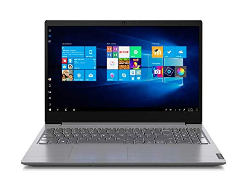 Lenovo V15-ADA - Portátil 15.6' HD (AMD 3020e, 8GB RAM, 256GB SSD, AMD Radeon Graphics, Windows10), Clor Gris - Teclado QWERTY español