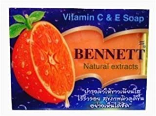 High Vitamin Fruit Extract Body and Face Bar Spa Soap 4.59 0z, Enriched Vitamin C & E Skin Smooth & Anti Acne & Body Deodorant by Ni Yom Thai shop