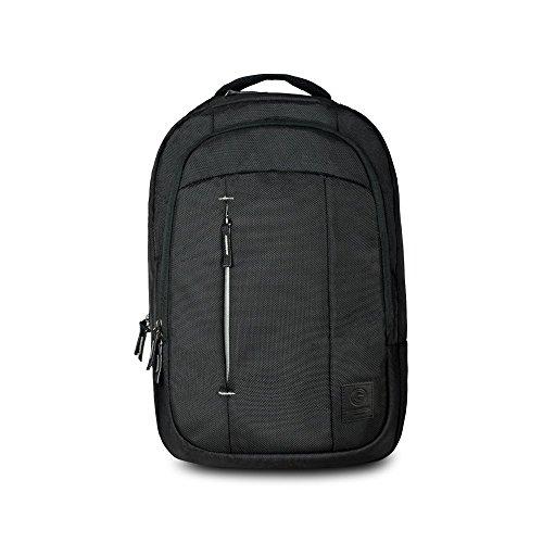 Cool Capital | Zilker Model Laptop Backpack Travel Backpacks Bookbag 15.6 IN Blue, College School Computer Bookbag Fits Notebook, Best Gift for Men Women Boys Girls Students (15.6 Inch, Black Backpack) | Business & School Laptop Backpack