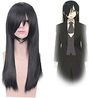COSPLAYZ Miss Kobayashi's Dragon MaidFáfnirblack long hair cos wig