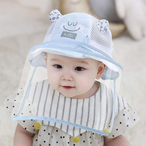 MJBABY Hut. Dünne, schaumarme Babymaske im Sommer-50 Meter_Kleines Blau