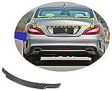 ZUOXUN Adecuado para Mercedes CLS-Class W218 Spoiler 2012-2017 Spoiler de Techo Trasero de Carbono Wing Trunk Window Spoiler