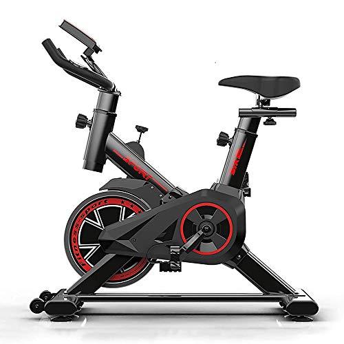 Indoor Heimtrainer, verstellbare Sitze und Armlehnen, Ultra-leisen Riemenantrieb, Edelstahl-Schwungrad, LED-Monitor, Heimfitnessgeräte