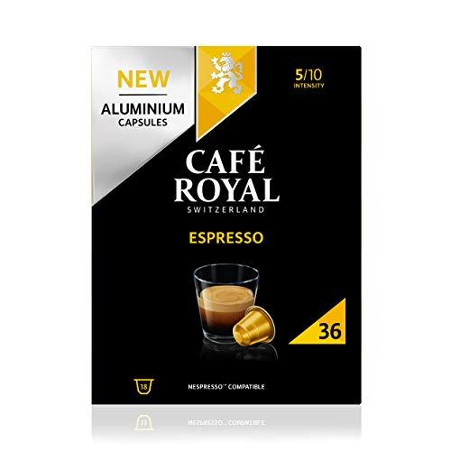 Café Royal Espresso 36 Capsules en Aluminium...