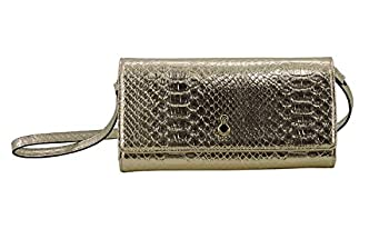 London Fog Wallet Crossbody In Gold