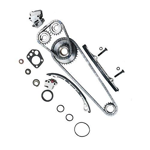 Timing Chain Kit for 98-04 Nissan Frontier & Nissan Xterra & Nissan Altima 2.4 L4 DOHC 16V KA24DE #9-4180SA