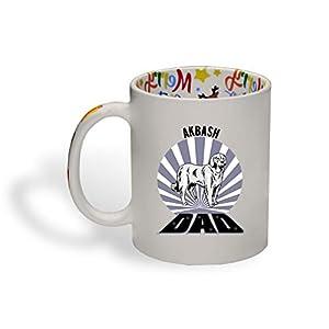 Ceramic Christmas Coffee Mug Dad Akbash Dog Funny Tea Cup 20