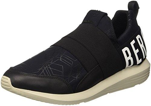 Bikkembergs Speed 583 Shoe M Lycra/Leather, Scarpe Low-Top Uomo