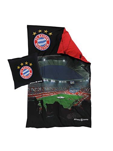 FC Bayern München Bettwäsche Allianz Arena, 135 x 200cm