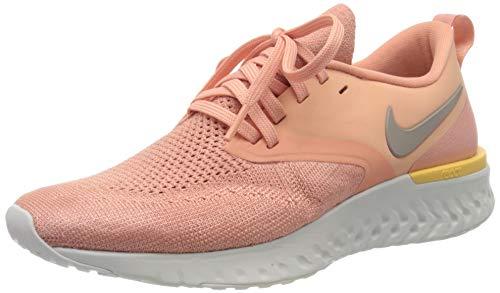 Nike Damen Odyssey React 2 Flyknit Traillaufschuh, Pink, 37.5 EU