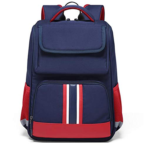 XJPGJL Fashion Backpack, Primary School Student School Bag Boys And Girls Children School Bag Burden Reduction Backpack Junior High School Students Leisure School Backpack, Pink,C