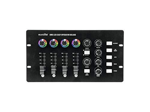EUROLITE DMX LED EASY Operator Deluxe | DMX-Controller für 4 LED-Scheinwerfer