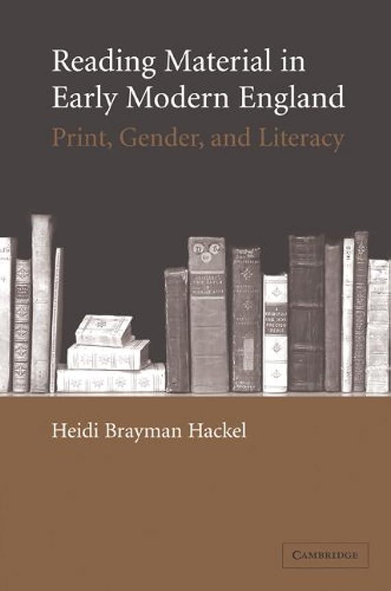 軍戻るマンモスReading Material in Early Modern England: Print, Gender, and Literacy