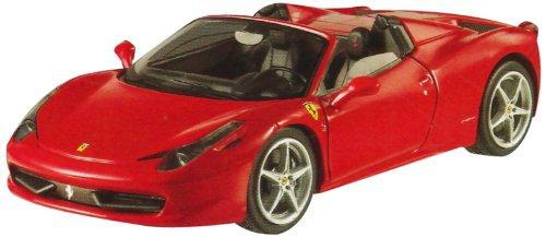 Hotwheels - Elite (Mattel) - W1182 - Véhicule Miniature - Ferrari 458 Italia Spider - 2011 - Echelle 1:43