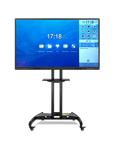 Interaktiver Touchscreen, 55 Zoll (14 cm), Full-HD, MultiTouch, hohe Präzision, Infrarot, Android RK3288 & Windows Intel Core i3