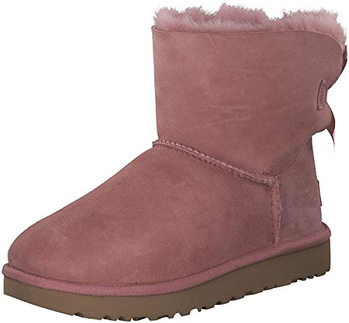 UGG | W Mini Bailey Bow II | Boots - pink Dawn, Pink, 38 EU