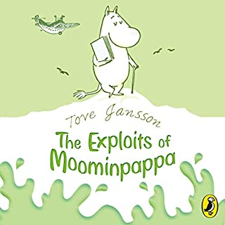 The Exploits of Moominpappa cover art