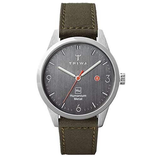 TRIWA HU39D Men's Minimalist Casual Watch – Analog Wrist Watches for Men, 39mm