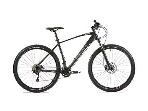 """HAWK SIXTYSIX 29\"""" Mountainbike, MTB, 20 Gang Schaltung und Shimano Scheibenbremsen BR-M315 Disc Hydr, schwarz, M"""