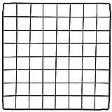 PILIN Organisateur de Cubes de Rangement en Fil de métal Noir, Cage à Petits Animaux Bricolage pour Lapin, cochons d'Inde, Chiot   Pet Products Clôture portative en Fil métallique (36 PCS)