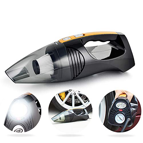 Affordable DBM-CXG Car Vacuum Cleaner, Dc 12V 120W High Power, Air Pump, Wet and Dry Portable Hand-H...