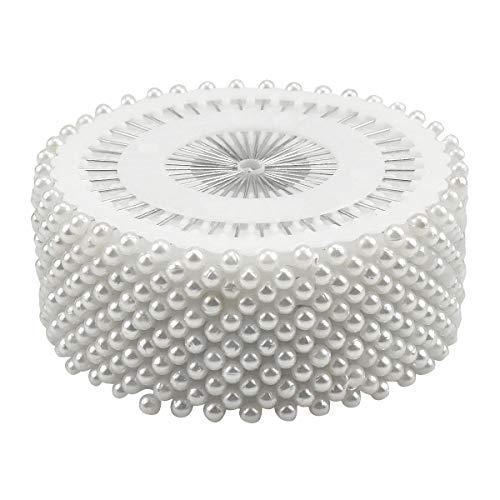 ronda perla cabeza costura alfileres bodas ramillete florerías herramientas de costura mujeres...