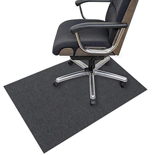 YINN 10mm dikke Office Rolling Stoel Mat Anti Scratch Protector Mat voor Hardhouten vloeren Stapel Tapijt, Multifunctionele Stoel Tapijt, Anti Slip Stoel Bureaus Mat, Cuttable