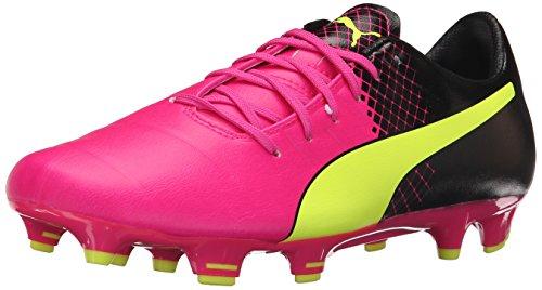 PUMA Men's Evopower 3.3 Tricks fg Soccer Shoe, Red Blast White Black, 9 M US