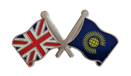 1000 Flaggen Commonwealth of Nations Flagge & United Kingdom Flagge Freundschaft Anstecker