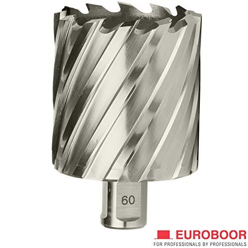 Sale!! EUROBOOR Annular Cutter - 1-11/16 Diameter HSS Cutter & Pin with 2 Cut Depth & Universal Ni...
