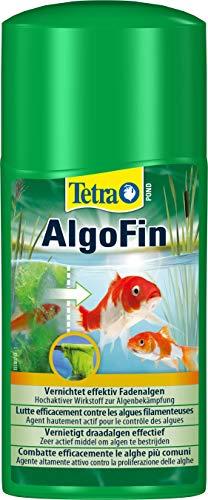 Tetra Pond Algofin - Anti Algue pour Bassin de Jardin - Efficace sur tous types d'Algues - 250 ml