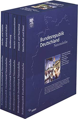Nationalatlas Bundesrepublik Deutschland - Unser Land in Karten, Texten und Bildern: Gesellschaft und Staat - Bevölkerung - Dörfer und Städte - ... und Kommunikation - Freizeit und Tourismus