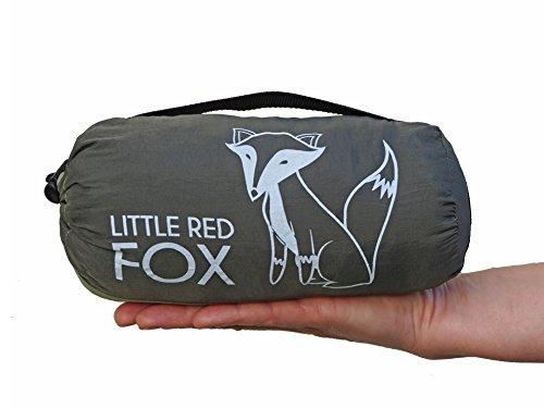 Little Red Fox Campingdecke, Picknickdecke, Stranddecke - ultraleicht klein kompakt und XXL