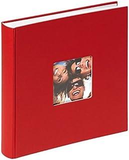 Walther Fun Álbum De Fotos FA-208-R 30x30 cm 100 Páginas Blancas Rojo